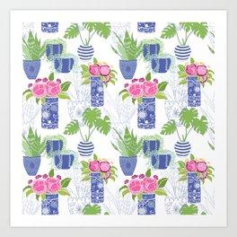 Chinoiserie Cactus Art Print