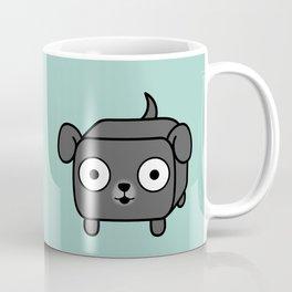 Pitbull Loaf - Blue Grey Pit Bull with Floppy Ears Coffee Mug