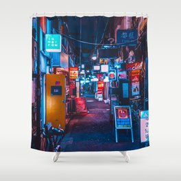 Golden Gai Shower Curtain