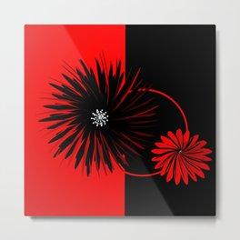 3 colors and 3 dimensions -2- Metal Print