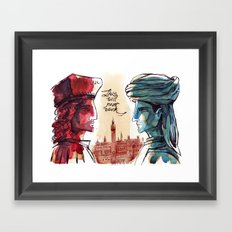 Us and Them - Renaissance Edition Framed Art Print