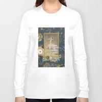 cartoons Long Sleeve T-shirts featuring marshmallows and cartoons by jotjoy