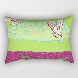 Peace & War Rectangular Pillow
