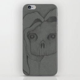 Nightmare Bunny Rabbit Skull iPhone Skin