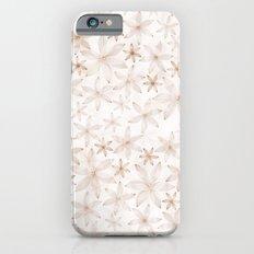 Flowers in light pattern iPhone 6s Slim Case