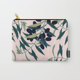 Olive Branch Pattern #society6 #decor #buyart Carry-All Pouch