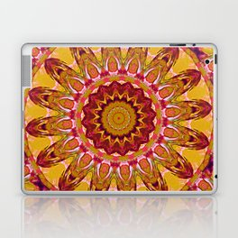 The goldish mandala Laptop & iPad Skin