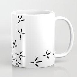 Bird footprints Coffee Mug