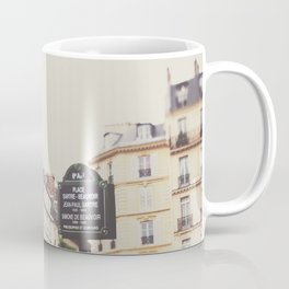 Place Sartre Beauvoir Coffee Mug