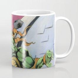 Teenage Mutant Turtles Painting Coffee Mug