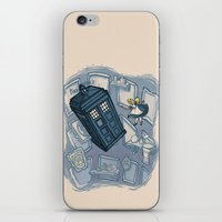 hallion iPhone & iPod Skins featuring Falling by Karen Hallion Illustrations