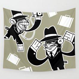 Köpke's Mafia Monkeys! Wall Tapestry