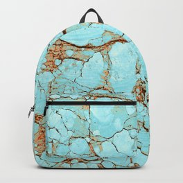 Rusty Cracked Turquoise Backpack