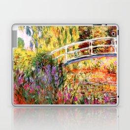 "Claude Monet ""Water lily pond, water irises"" Laptop & iPad Skin"