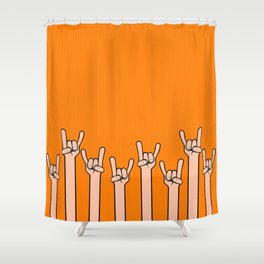Born to rock Shower Curtain