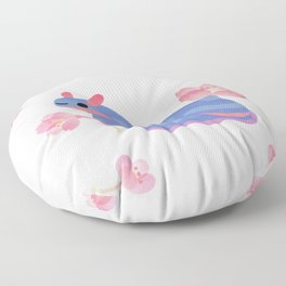 Cherry blossom slug Floor Pillow