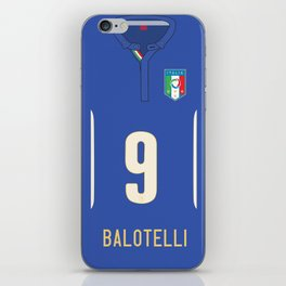 World Cup 2014 - Italy Balotelli Shirt Style iPhone Skin