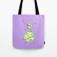 Space Dinosaur Tote Bag