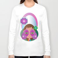 lucy Long Sleeve T-shirts featuring Lucy by J Riley