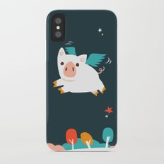 When Pigs Fly Slim Case iPhone X