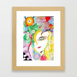 More than meets eye Framed Art Print
