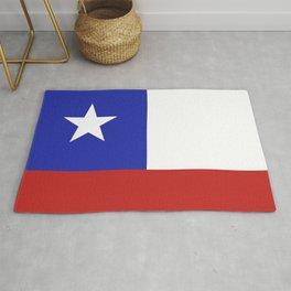 Chile flag emblem Rug