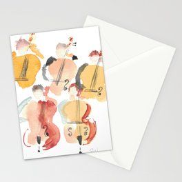 All About that Double Bass Section Stationery Cards