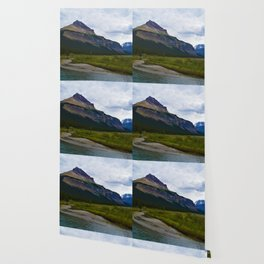 Tangle Ridge in the Columbia Icefields area of Jasper National Park, Canada Wallpaper