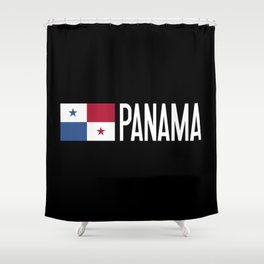 Panama: Panamanian Flag & Panama Shower Curtain