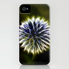 Fractal thistle Slim Case iPhone (4, 4s)