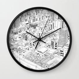 Asakusa, Japan Wall Clock