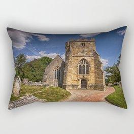 St Mary Newick Rectangular Pillow