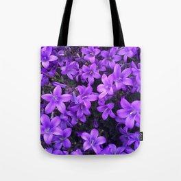 Violetta Blue Tote Bag