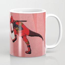 Deadpachycepoolosaurus - Superhero Dinosaurs Series Coffee Mug