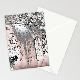 "series waterfall ""Cachoeira Grande"" IV Stationery Cards"