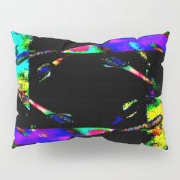 feedback pinwheel Pillow Sham
