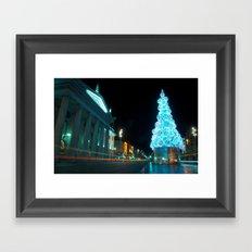 Christmas in Dublin Framed Art Print