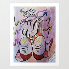 EL HOMBRE Art Print