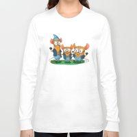 minions Long Sleeve T-shirts featuring Minion Mice by Kiome-Yasha