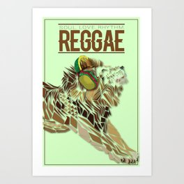 Soul, Love, & Rhythm Art Print
