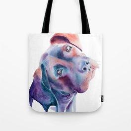Labrador Boxer Watercolor Tote Bag