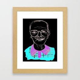 Christmas Grandpa Framed Art Print