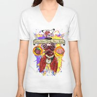 """anatomical heart V-neck T-shirts featuring Anatomical Mistake by C*MAR """"Creative Minds Are Rare"""""""