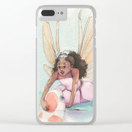 A Friendly Visit Clear iPhone Case