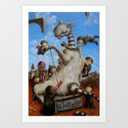 new american mythology Art Print