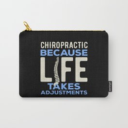 Funny Chiropractor Carry-All Pouch