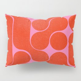 Abstract mid-century shapes no 6 Pillow Sham