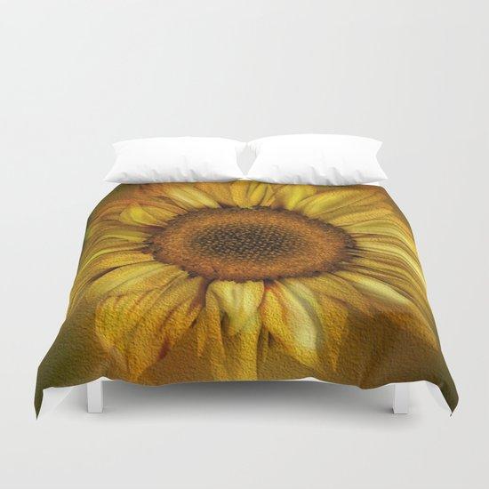 Sunflower - Vintage Duvet Cover