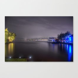 The Still of the Water Canvas Print
