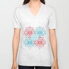 Geometrical 001  Unisex V-Neck
